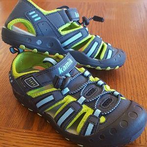 Kamik Water/Hiking Shoes  (Big Boy Size 2)